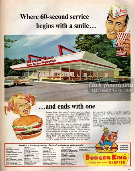 Burger King: A unique concept, so delightfully different