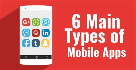 6 Main Types of Mobile Apps Developers Should Know About
