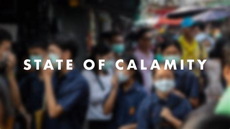 Philippines Under A State Of Calamity Amid COVID-19 Pandemic