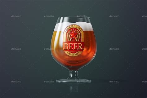 42+ Breandable Free Beer Glass Mockup PSD & Vector Templates
