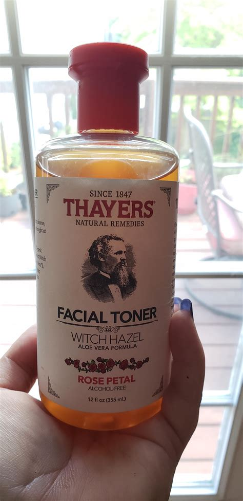 Made my own witch hazel toner to refill my Dr