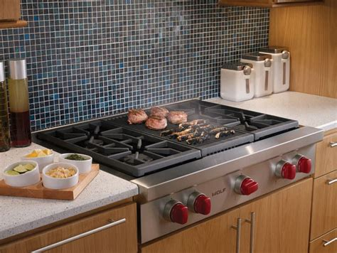 Wolf SRT364CLP 36 Inch Pro-Style Gas Rangetop with 4 Dual