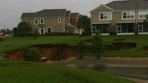 Sinkholes open up in Marion Co