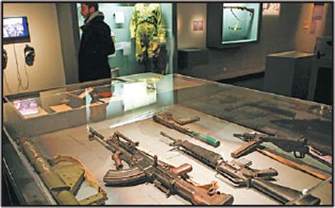 secret agents gadgets and weapons are displayed as part of