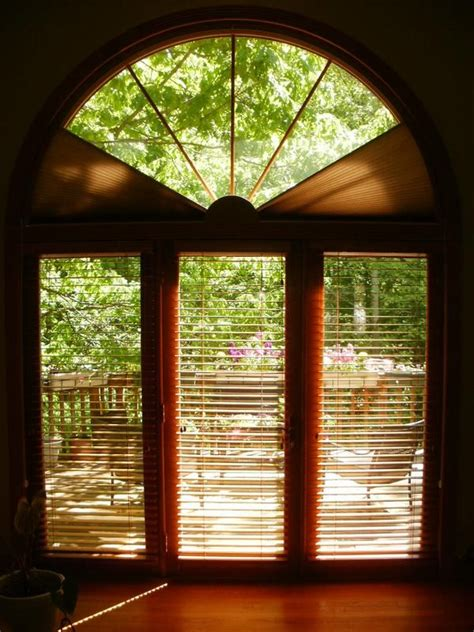 Arched Window Treatments, ADJUST-A-VIEW Moveable Arches by