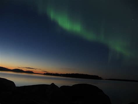 Seeing the Northern Lights in Maine - Wilderness Realty