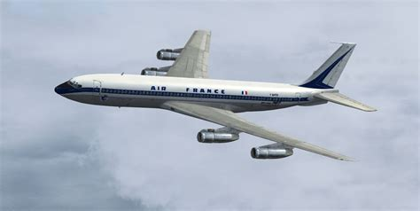 Air France Boeing 707 F-BHSO for FSX