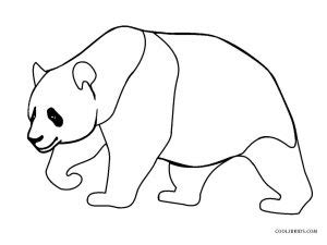 Free Printable Panda Coloring Pages For Kids