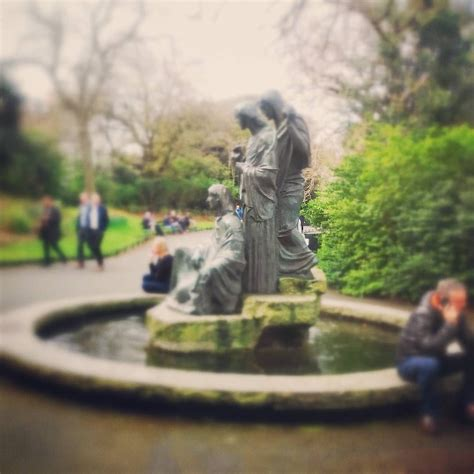 Nice to see this again, 'The Three Fates' fountain by