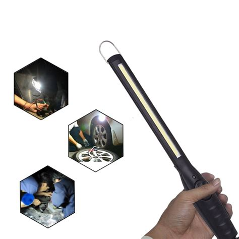 Rechargeable High Brightness COB LED Work Light Inspection