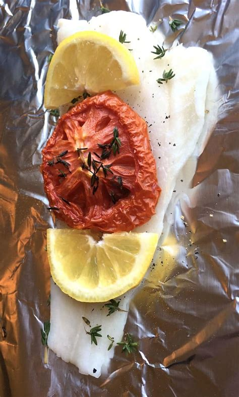 Oven-Roasted Tomato Orange Roughy Recipe - Foil Packet