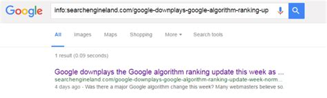 How to check which URLs have been indexed by Google using
