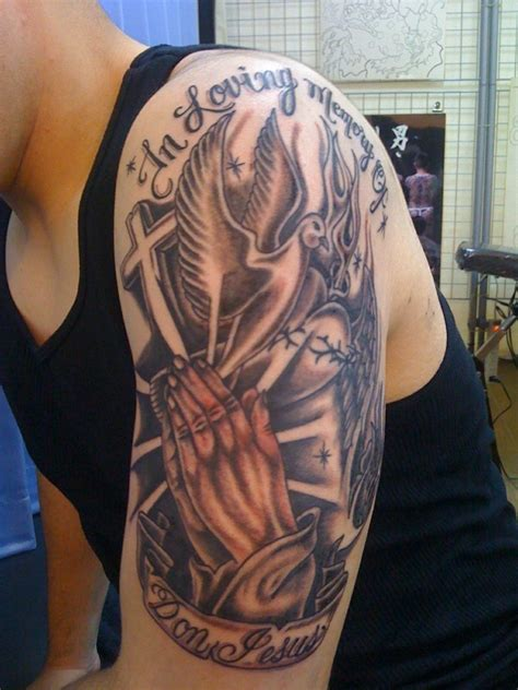 Religious Sleeve Tattoos Designs, Ideas and Meaning