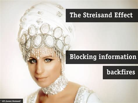 The Streisand Effect Examples Blocking