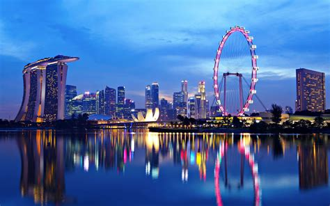 Sights And Scenes Of Beautiful Singapore HD Wallpaper 6