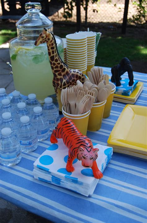 Zoo Animals First Birthday Party - Evite
