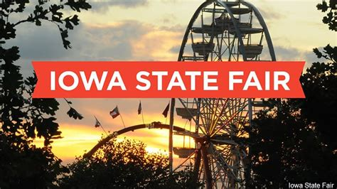 Tickets for the 2021 Iowa State Fair on sale now