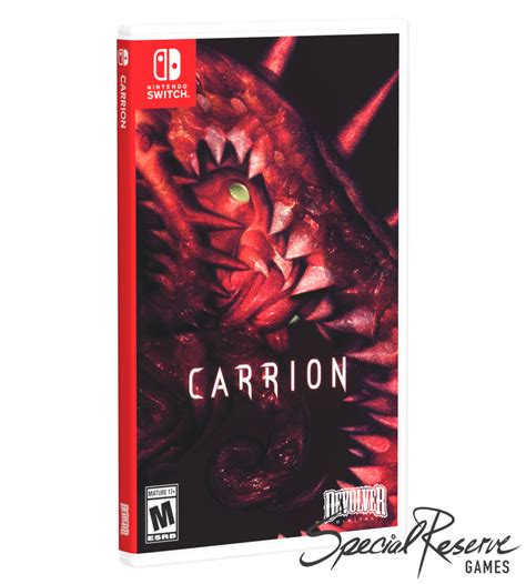 Carrion (Switch) - Exclusive Variant – Limited Run Games