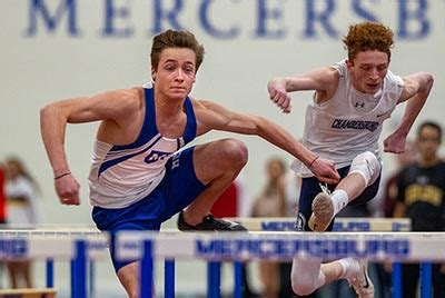 Colwell Lowers School Record at State Indoor T&F